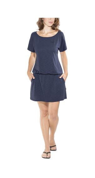 Jack Wolfskin Travel jurk Dames blauw
